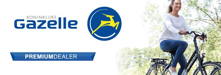 GAZELLE premium dealer banner