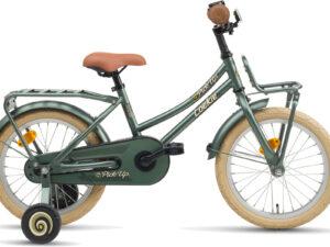 DeLoekie Pick-Up 16 inch meisjes is scherp geprijsd leverbaar bij de enige officiële Loekie dealer van Alphen aan den Rijn; Van der Louw tweewielers.