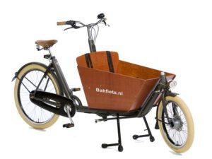 De Bakfiets.nl Cargo Cruiser short is scherp geprijsd leverbaar bij de enige officiële Bakfiets.nl dealer van Alphen aan den Rijn; Van der Louw tweewielers.