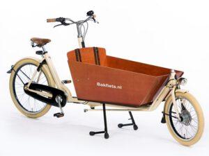 De Bakfiets.nl Cargo Cruiser long is scherp geprijsd leverbaar bij de enige officiële Bakfiets.nl dealer van Alphen aan den Rijn; Van der Louw tweewielers.