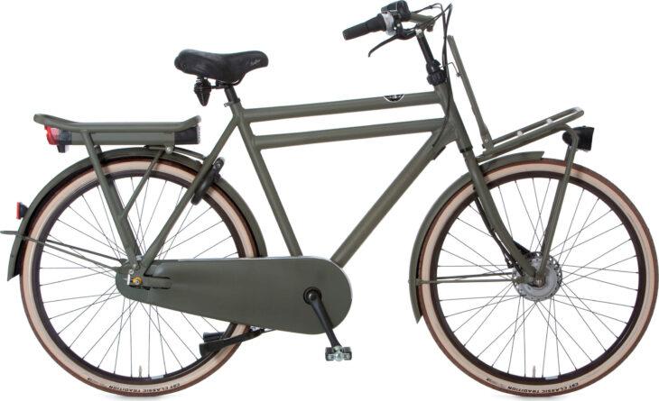 De Cortina E-U4 Transport RAW N8 is scherp geprijsd leverbaar bij de officiële Cortina dealer van Alphen aan den Rijn; Van der Louw tweewielers.