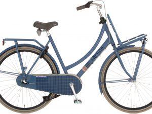 De Cortina U4 transport 3V Dull blue is scherp geprijsd leverbaar bij de officiële Cortina dealer van Alphen aan den Rijn; Van der Louw tweewielers.