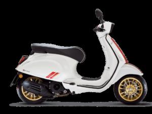De Vespa Sprint Racing Sixties is scherp geprijsd leverbaar bij de enige officiele Vespa dealer van Alphen aan den Rijn; Van der Louw tweewielers.