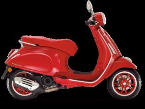 De Vespa Primavera RED is leverbaar bij de enige officiéle Vespa dealer van Alphen aan den Rijn; Van der Louw tweewielers.